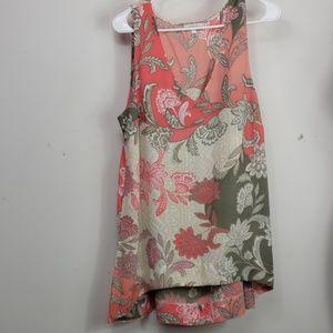 Halo sleeveless polyster blouse sz L